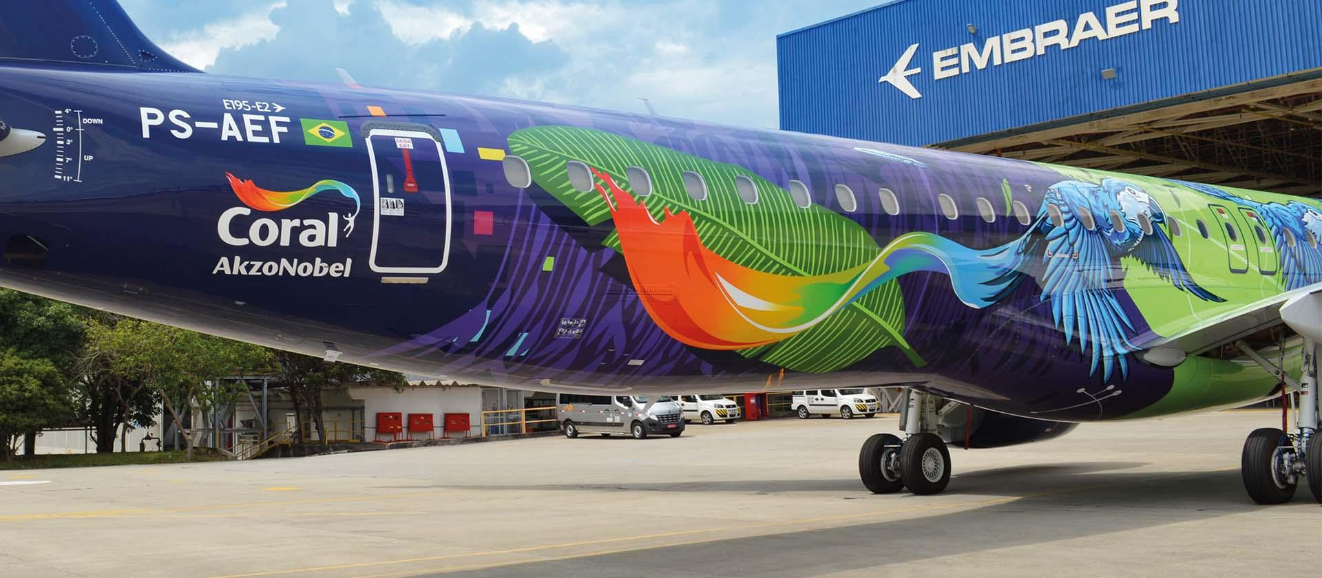 Azul Airlines Macaw Livery